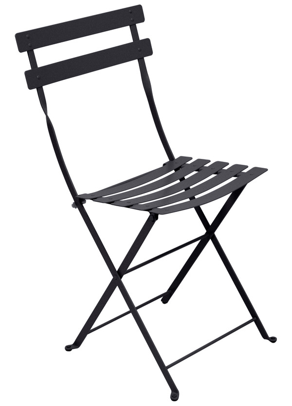Photo du produit Chaise Bistro Metal Carbone