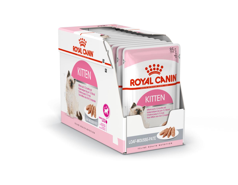 Photo du produit Sachets Kitten en Mousse pour Chaton Royal Canin